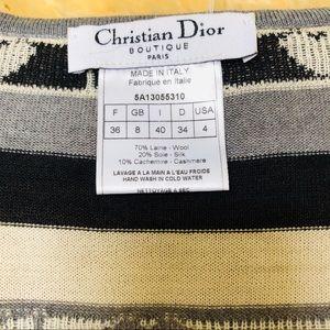 Dior Sweaters - Christian Dior monogram logo heart women's sweater